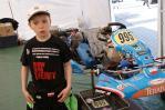 Młody kierowca kartingowy z gminy Chynów