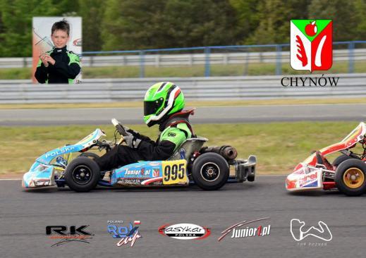 Kamil 3 i 4 na zawodach w Zielonej Górze