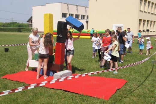 Festyn Rodzinny w Zespole Szkół w Drwalewie
